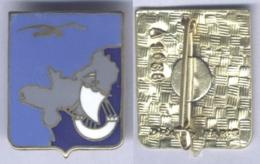 Insigne De L'Etat Major De La 2e Région Aérienne 00-352 - Armée De L'air