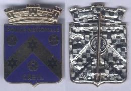 Insigne De La Police Nationale De Creil - Police & Gendarmerie