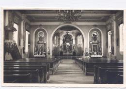 """SASBACHWALDEN Innenansicht Der Wallfahrtskirche """"Dreifaltigkeit"""" -1963- 2 Scans - Format 9x14 - Sasbach"""