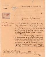 1897 - SIERRA LEONE - CHOLÉRA En ANGLETERRE Lettre à M .COUSTURIER Gouverneur De La GUINÉE Fse à CONAKRY - Documents Historiques