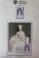 Österreich 100 Todestag Von Kaiserin Elisabeth Sissi   1998  ♥   - Autriche