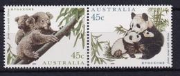 Australia: 1995   Australia-China Joint Issue - Endangered Species  MNH Pair - 1990-99 Elizabeth II