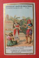 CHROMO. Guérin-Boutron. Le Théatre à Travers Les âges. Musiciens Et Musiciennes D'Egypte. Harpe. Flute. - Cromo