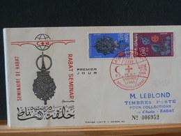 86/490  FDC  MAROC  1966   VENTE RAPIDE A 1 EURO - Marruecos (1956-...)