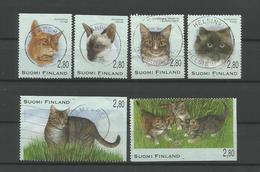 Finland 1995 Cats Y.T. 1277/1282 (0) - Finland