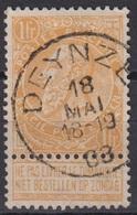 """(167) Cat Nr: 65  """" Deynze """"  +2  (2 SCAN) - 1893-1900 Fine Barbe"""
