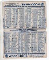 Calendrier Wood Milne 1919  - Liste Chronologique De La Grande Guerre 1914 1918 - Calendriers