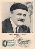 FRANCE 1957 CARTE MAXIMUM  DE CHALONS SUR MARNE - Maximum Cards