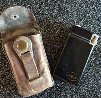 Briquet Gaz Flaminaire Quercia, AGA. Laqué Noir - Briquets