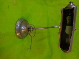 """Lampe De Notaire Portative Art Déco De Style """" Pirouett """" (lampes Phares Des Années 30)  Abat-jour Pivotant En Alu Etc.. - Andere Verzamelingen"""