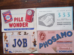 Lot De 4 Buvards Pub - Buvards, Protège-cahiers Illustrés