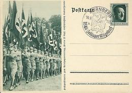 Deutsches Reich  -  Postkarten - Carte-Postale - 14.9.1937 - Guerre 1939-45