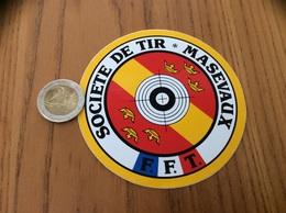 AUTOCOLLANT, Sticker «SOCIÉTÉ DE TIR - MASEVAUX (68) » - Aufkleber