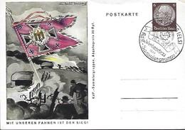 Deutsches Reich  -  Postkarten - Carte-Postale - 20.4.1941  -  Mit Unseren Fahnen Ist Der Sieg - Weltkrieg 1939-45
