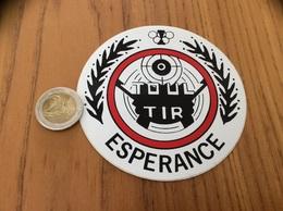 AUTOCOLLANT, Sticker «TOUL TIR ESPERANCE - TOUL (54) » - Aufkleber