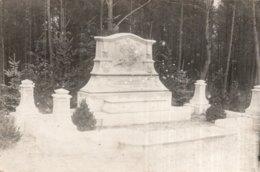 """CPA  MONUMENT  """" A NOS CAMARADES MORTS EN CAPTIVITE AU CAMP  D'ALTEN-GRABON OU CRABON ?---LEURS CAMARADES MILITAIRES """" - Guerre 1914-18"""