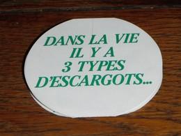 Escargot Escargots éventail CHANTIFRAIS Recettes Humour Espèces - Advertising
