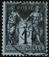 -Sage N°83 Type Ll ( CAD )  O  PARIS PL DE LA BOURSE JUIL 1899 - 1876-1898 Sage (Type II)
