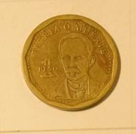 Cuba 2014 KM#347 Jose Marti 1 Peso Regular VF - Cuba