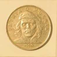 Cuba 1990 KM#346 Ernesto Che Guevara 3 Peso Regular VF - Cuba