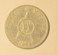 Cuba 2005 KM#35  VEINTE CENTAVOS 20 Centavos Regular F - Cuba