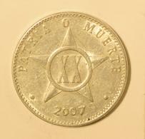 Cuba 2007 KM#35  VEINTE CENTAVOS 20 Centavos Regular F - Cuba