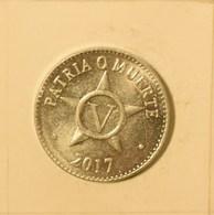Cuba 2017 KM#34 CINCO CENTAVOS 5 Centavos Regular AUNC - Cuba