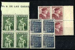 España Nº 1002/4 Nuevo. Cat.40€ - 1931-Today: 2nd Rep - ... Juan Carlos I