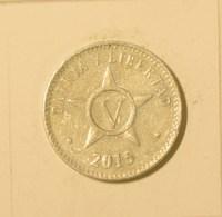 Cuba 2015 KM#34 CINCO CENTAVOS 5 Centavos Regular AUNC - Cuba