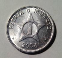 Cuba 2006 KM#33.3 UN CENTAVO 1 Centavos Regular XF - Cuba