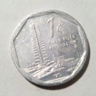 Cuba 2015 KM#729 UN CENTAVO 1 Centavos Regular XF - Cuba