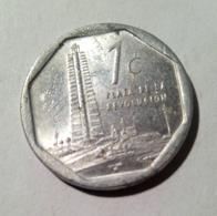 Cuba 2005 KM#729 UN CENTAVO 1 Centavos Regular VF - Cuba
