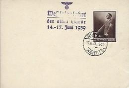 Deutsches Reich  -  Postkarten - Carte-Postale - 17.6.1939 - Weltkrieg 1939-45