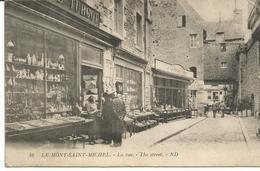 MONT SAINT MICHEL. La Rue. Magasin De Souvenirs TURGOT. - Le Mont Saint Michel