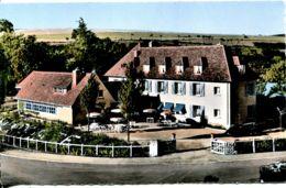 N°4971 T -cpsm Thury Harcourt (14) Hôtel De La Poste -jean Mouge- - Hotels & Gaststätten