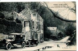 N°4974 T -cpa Thury Harcourt -le Célèbre Restaurant De La Roche à Bunel- - Hotels & Gaststätten