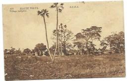 "AFRIQUE - HAUTE VOLTA - N° 177 - ""Village Indigène"" - CPA - Burkina Faso"