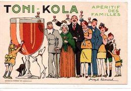 Publicité : Cpa  Apéritif Toni-Kola - Advertising