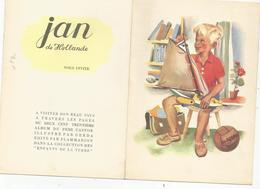 Pub Publicité Jan De Hollande Pour Album Du Père Castor Illustré Par Gerda ..carte Double - Advertising