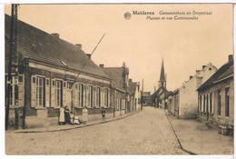 Malderen - Gemeentehuis En Dorpstraat  (Geanimeerd) - Londerzeel