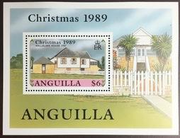Anguilla 1989 Christmas Minisheet MNH - Anguilla (1968-...)