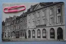YPRES : Hôtel De La Gare Et Le Café De L'aigle D'or - Ieper