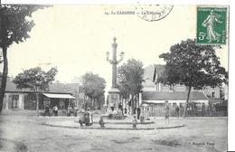 LA GARENNE COLOMBES   N 24   LA COLONNE   PERSONNAGES DEVANT  DEPT 92 - La Garenne Colombes