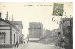 LA GARENNE COLOMBES   N 64 PLACE DE LA GARE   PERSONNAGES  Petit Pli Coin  DEPT 92 - La Garenne Colombes