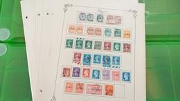 LOT N° E 314 ALGERIE MAROC ET TUNISIE  Neufs * Ou Obl. Sur Page D'albums - Francobolli