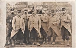 """Rare  Photo Carte Les """"pépères"""" Du 25 Eme Territorial De Laval Sur Le Front - 1914-18"""
