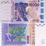 WEST AFRICAN STATS, BENIN,10000 CFA, 2017, CODE B, P218BQ, UNC - Benin