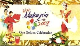MALAYSIA (NATIONAL), 2007, Booklet SB 18, Visit Malaysia Year - Maleisië (1964-...)