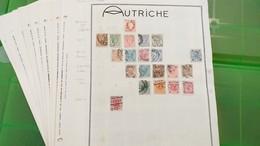 LOT N° E 307 AUTRICHE Neufs * Ou Obl Collection. Sur Page D'albums - Francobolli