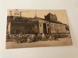 Carte Postale Ancienne Coq S/Mer La Buvette Des Dunes - De Haan